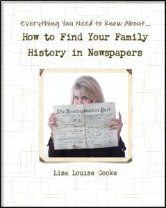 Newspaper Book Cover