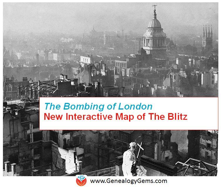 bombing of London the blitz 4