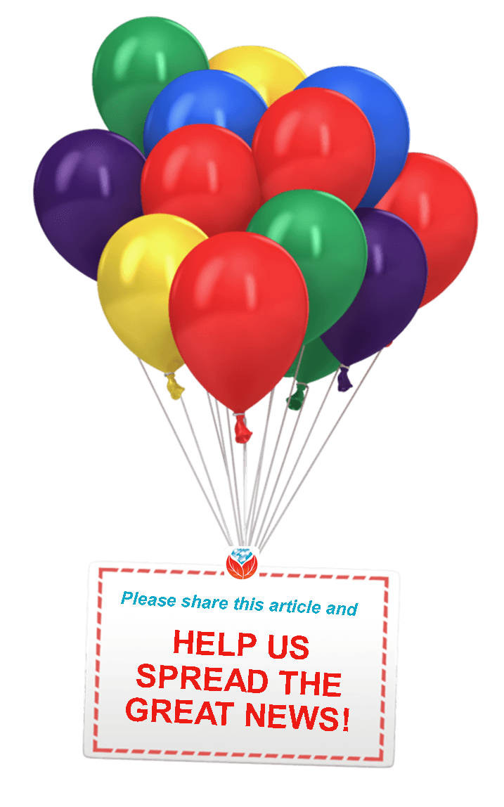 share celebrate balloons