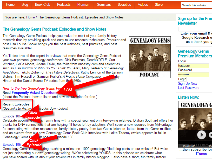 genealogy gems podcast how to 3