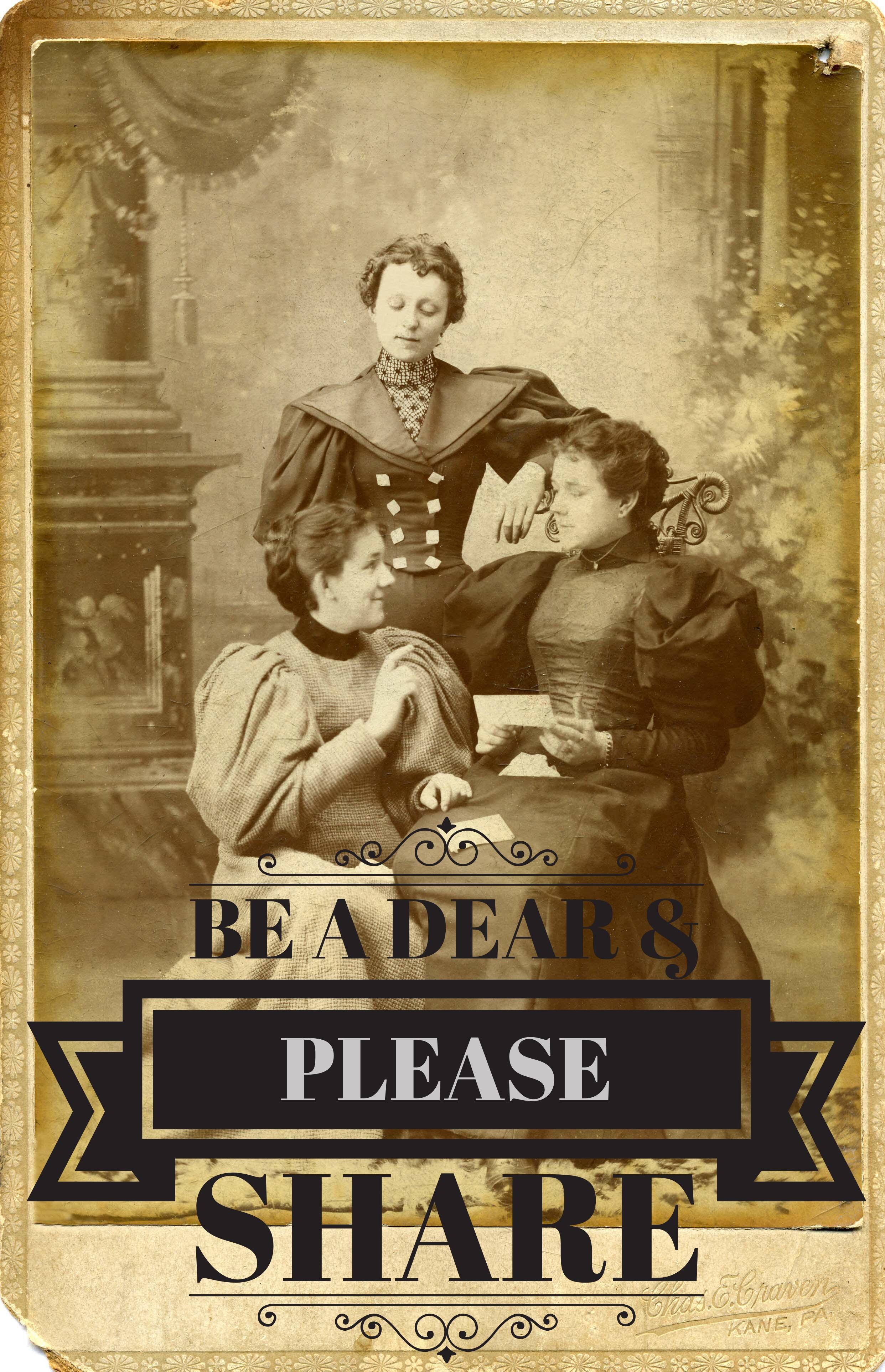 Be_A_Dear_Please_Share