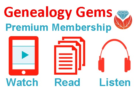 Genealogy Gems - Family History Podcast and Website