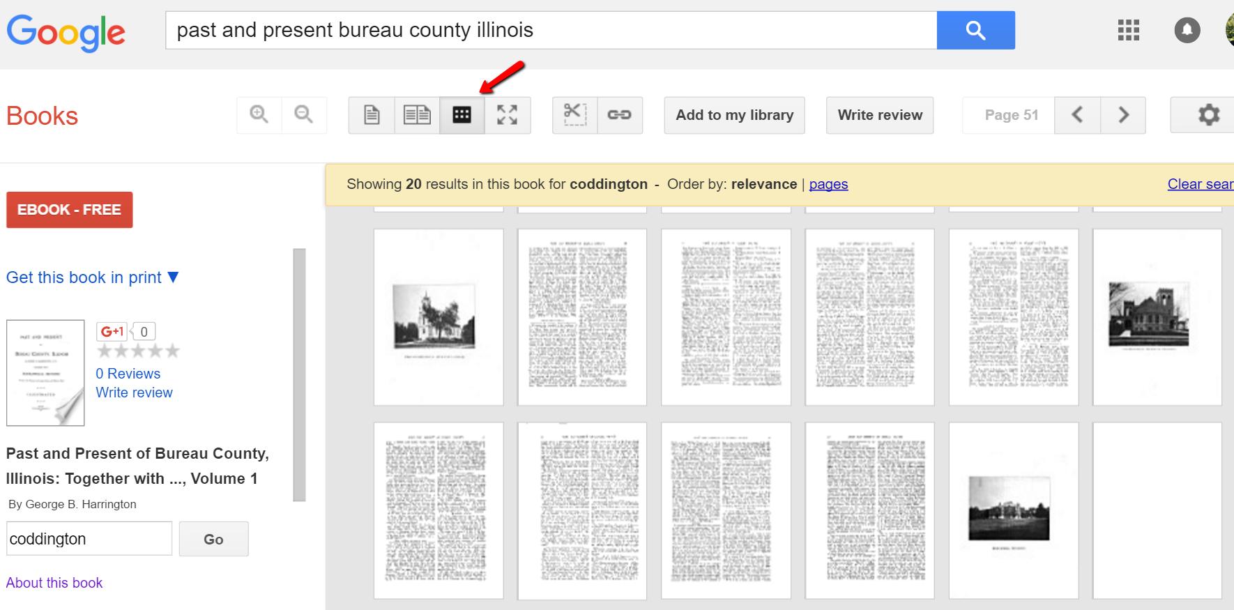 Google books image search icon