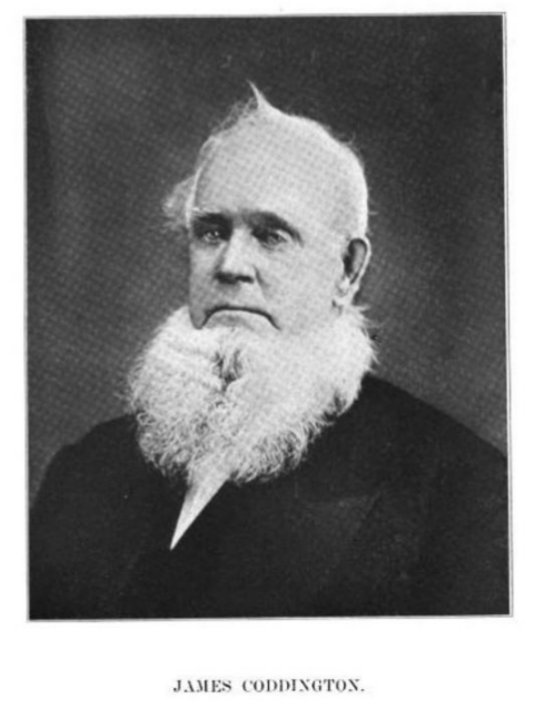 "George B. Harrington, ""Past and Present of Bureau County, Illinois,"" 1906, Google Books, page 733."