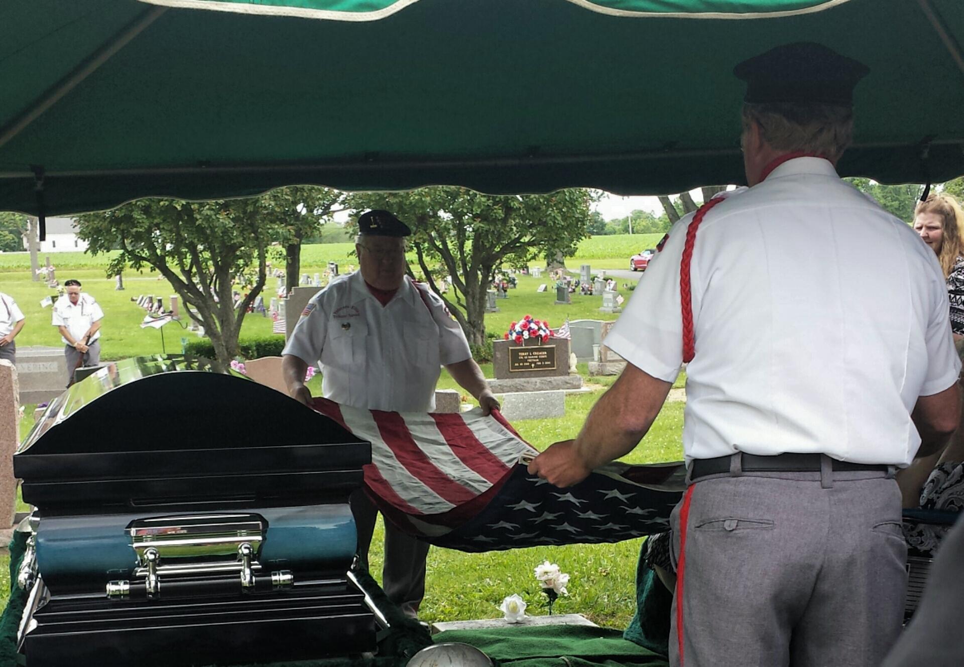 Virtual funeral