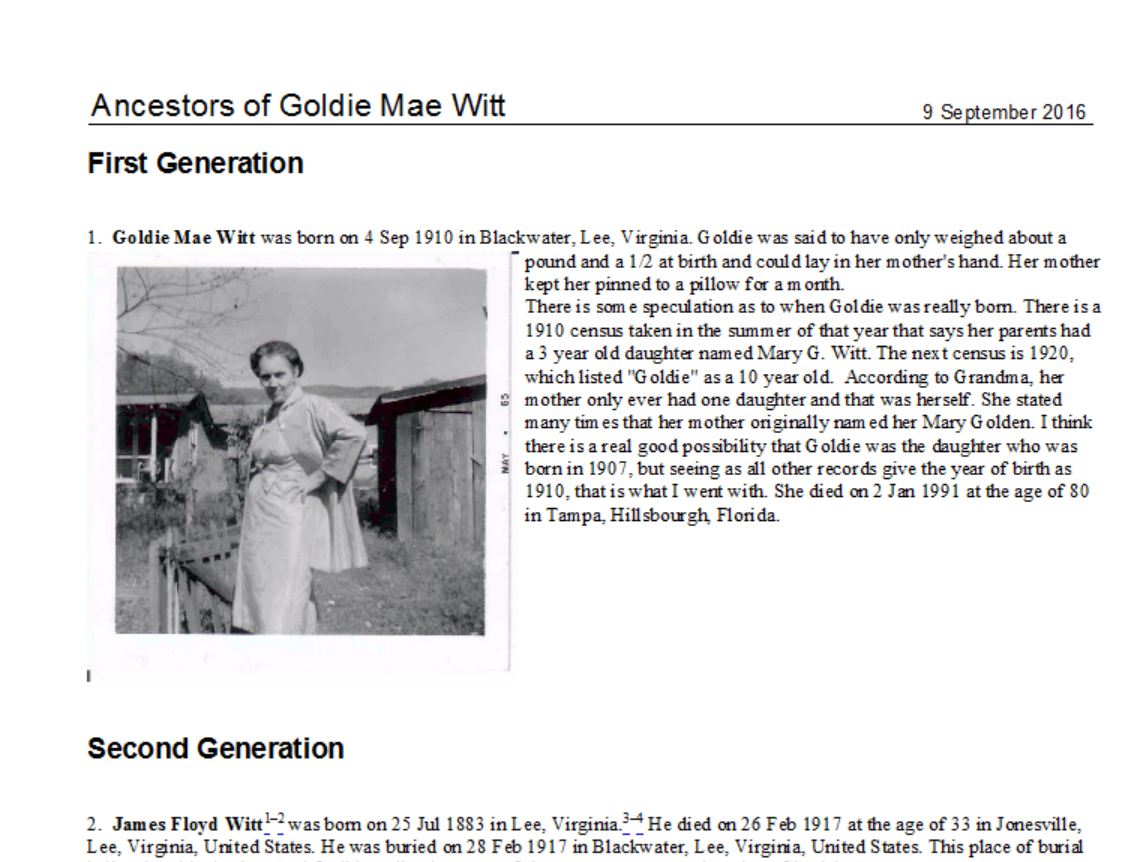 Write Your Family History Book with Images