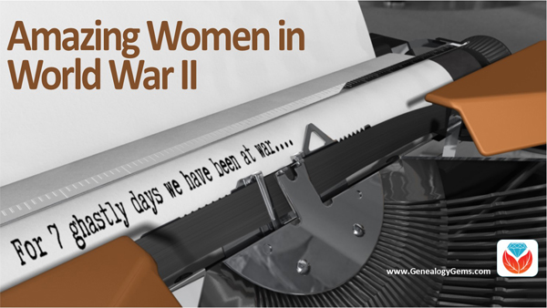 women in World War II