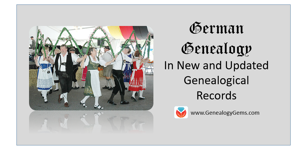 German genealogy in the US