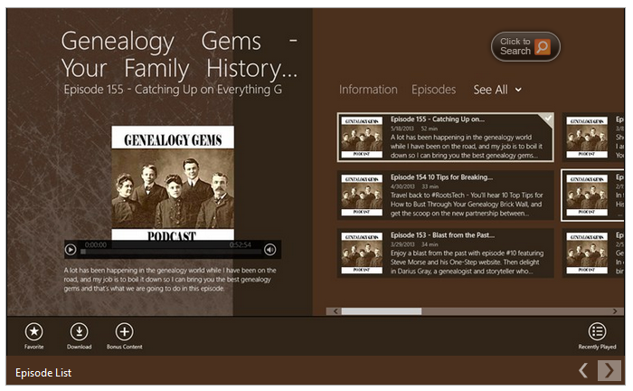 Genealogy gems desktop app 2 99 from the windows desktop app store