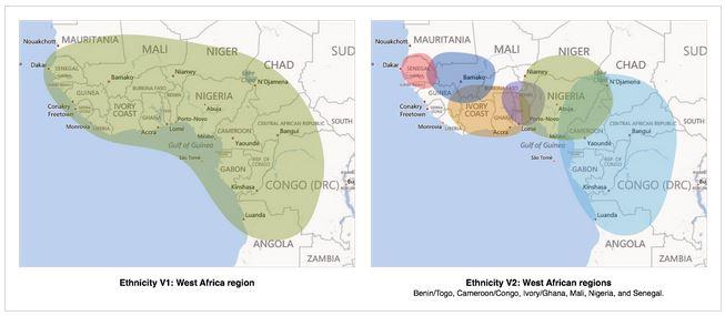 AncestryDNA West Africa