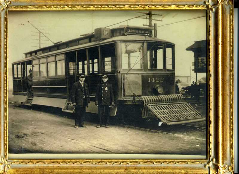 San Francisco Street Car Great Grandpa Burkett Family History