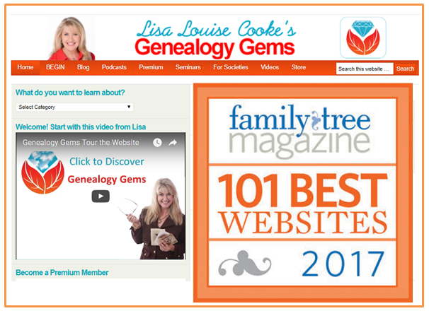 FTM's 101 Best Genealogy Websites: Here's the Latest List!