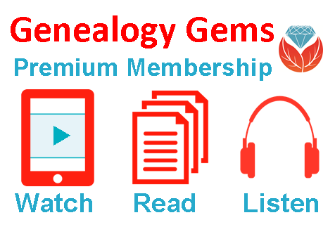 Genealogy Gems Premium Membership