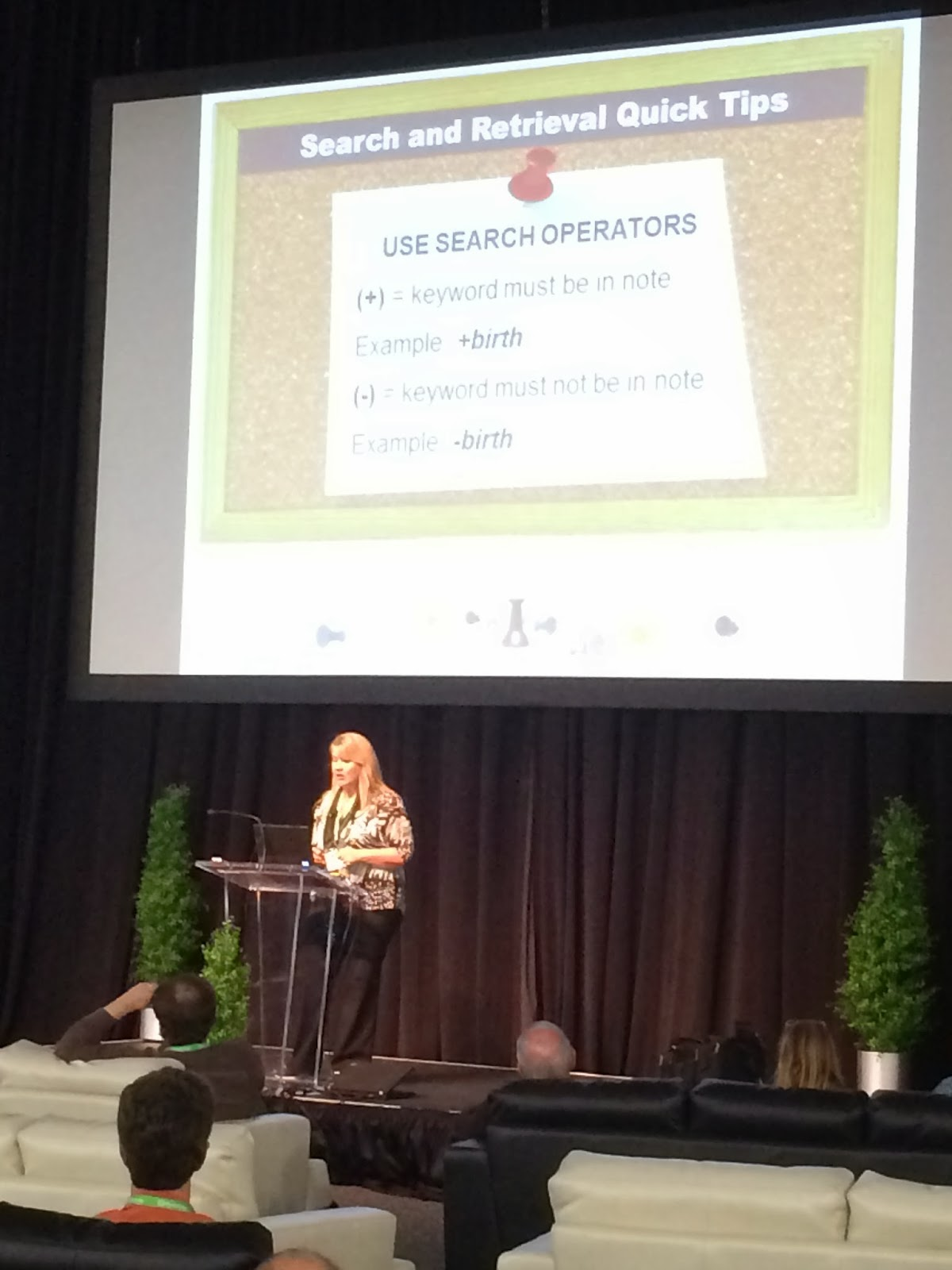 Lisa Speaking at RootsTech