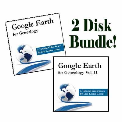 Google Earth for Genealogy Bundle
