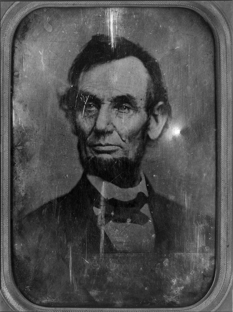 President Abraham Lincoln Mystery Photo