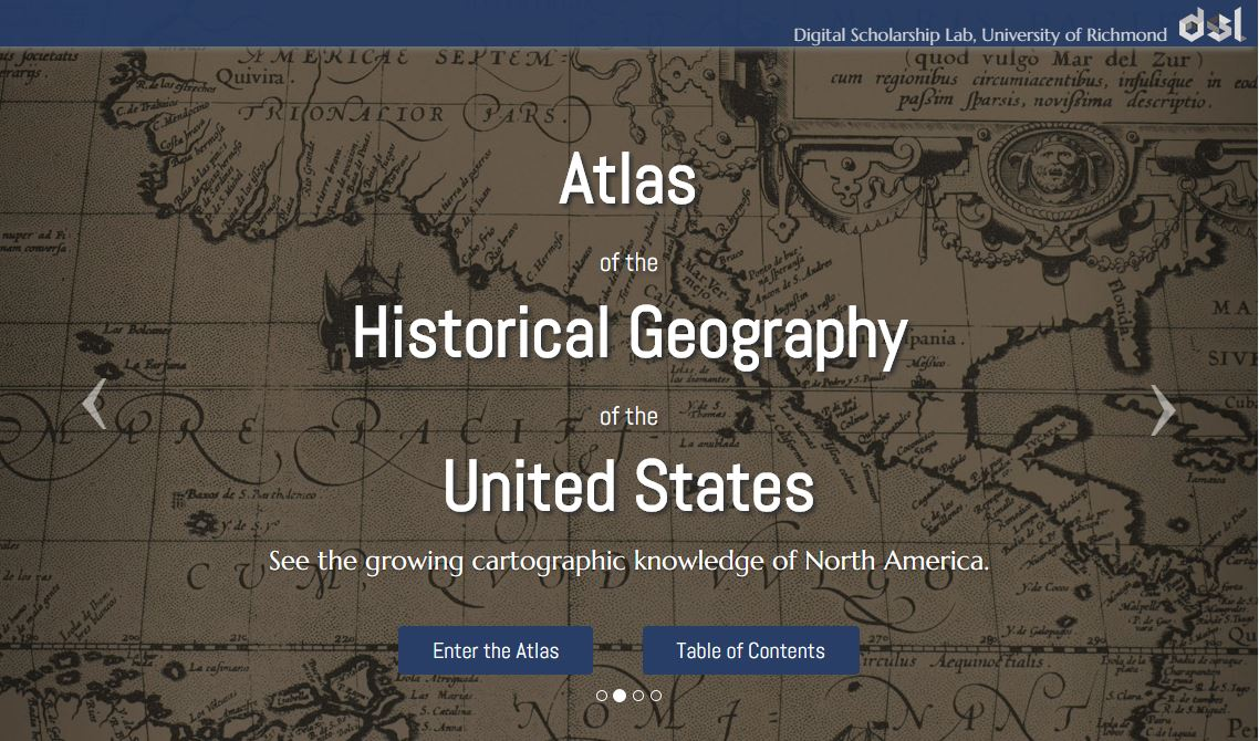 Atlas historical geography of US