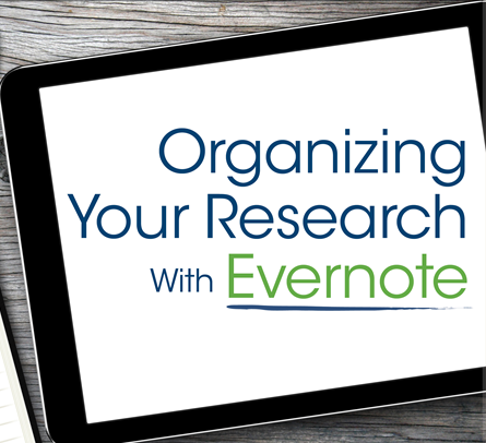 organize genealogy with Evernote