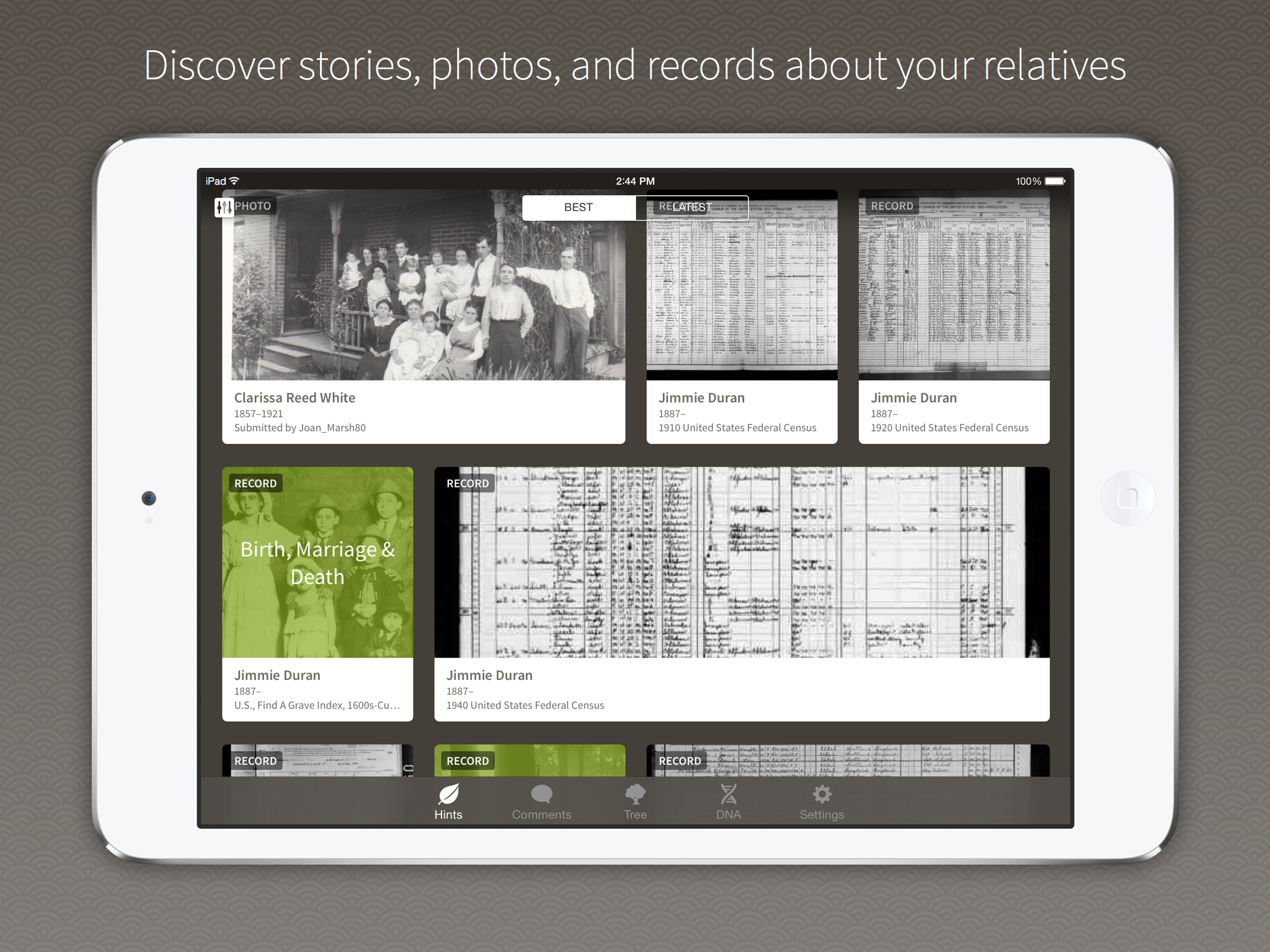 "Ancestry App Launches With ""Solid New Features"""