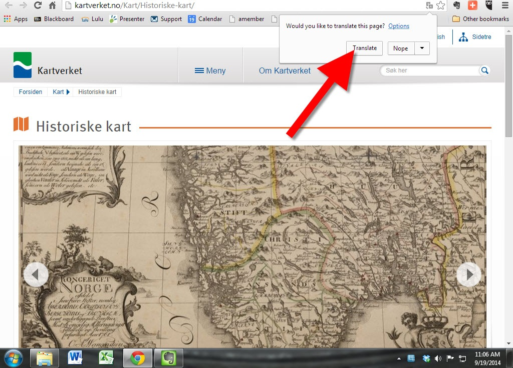 Historical Norwegian Maps Online: Great Genealogy Resource!