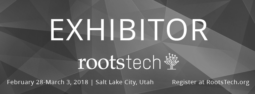 rootstech exhibitor