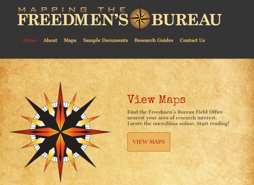 mapping the freedmens bureau african american genealogy reconstruction