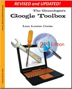 Genealogists Google Toolbox 2nd edition cover youtube for family history