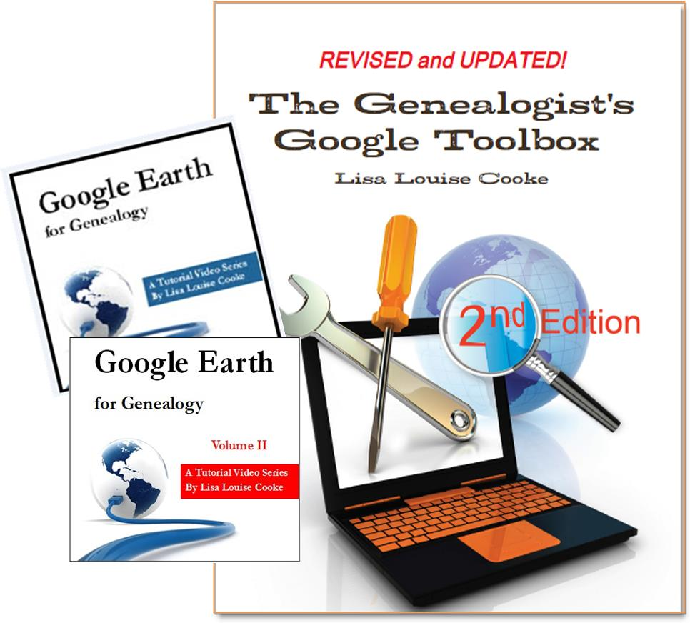 Google Earth for Genealogy and Toolbox bundle