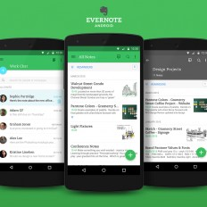 Evernote for Android Gets a New Clean Look