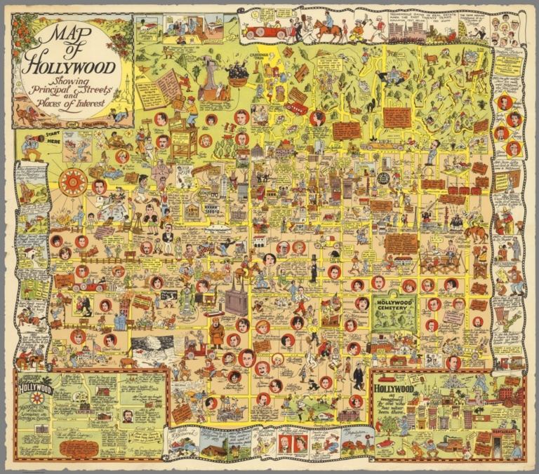 New Pictorial Maps on David Rumsey Map Collection