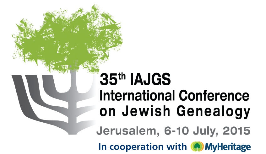 International Conference on Jewish Genealogy: IAJGS 2015