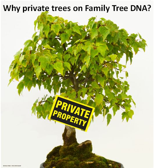 Family Tree DNA Privacy Update: Why Private Trees?
