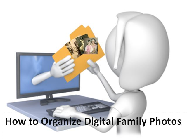 Organize Digital Family Photos: Free Podcast Interview with Denise Levenick