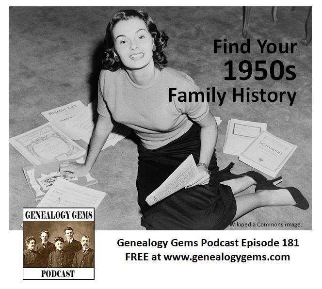 1950s family history