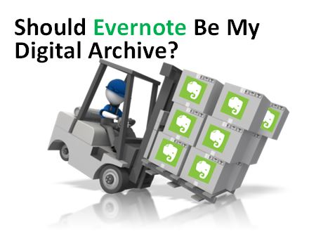 Evernote for Genealogy: Should Evernote Be My Digital Archive?