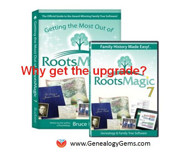 Update Now! RootsMagic Update for FamilySearch Compatibility