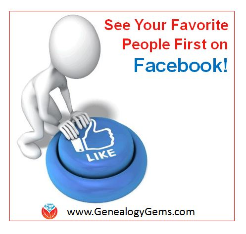 See your Facebook favorite people first