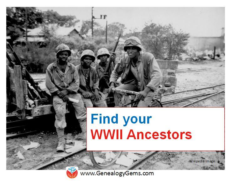 find your WWII ancestors