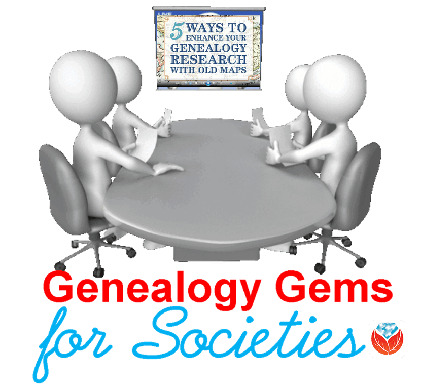 Genealogy Gems for societies around table