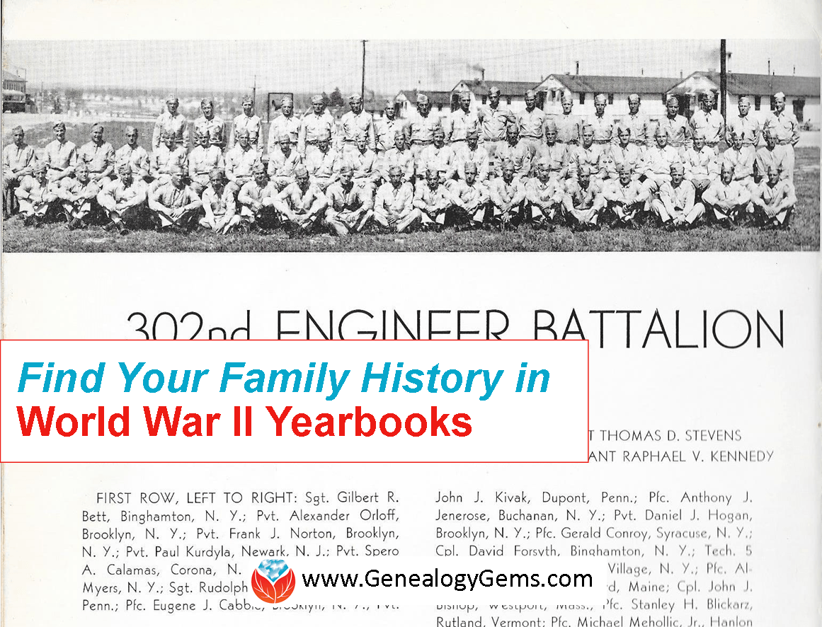 Find Your Family History in World War II: WWII Yearbooks