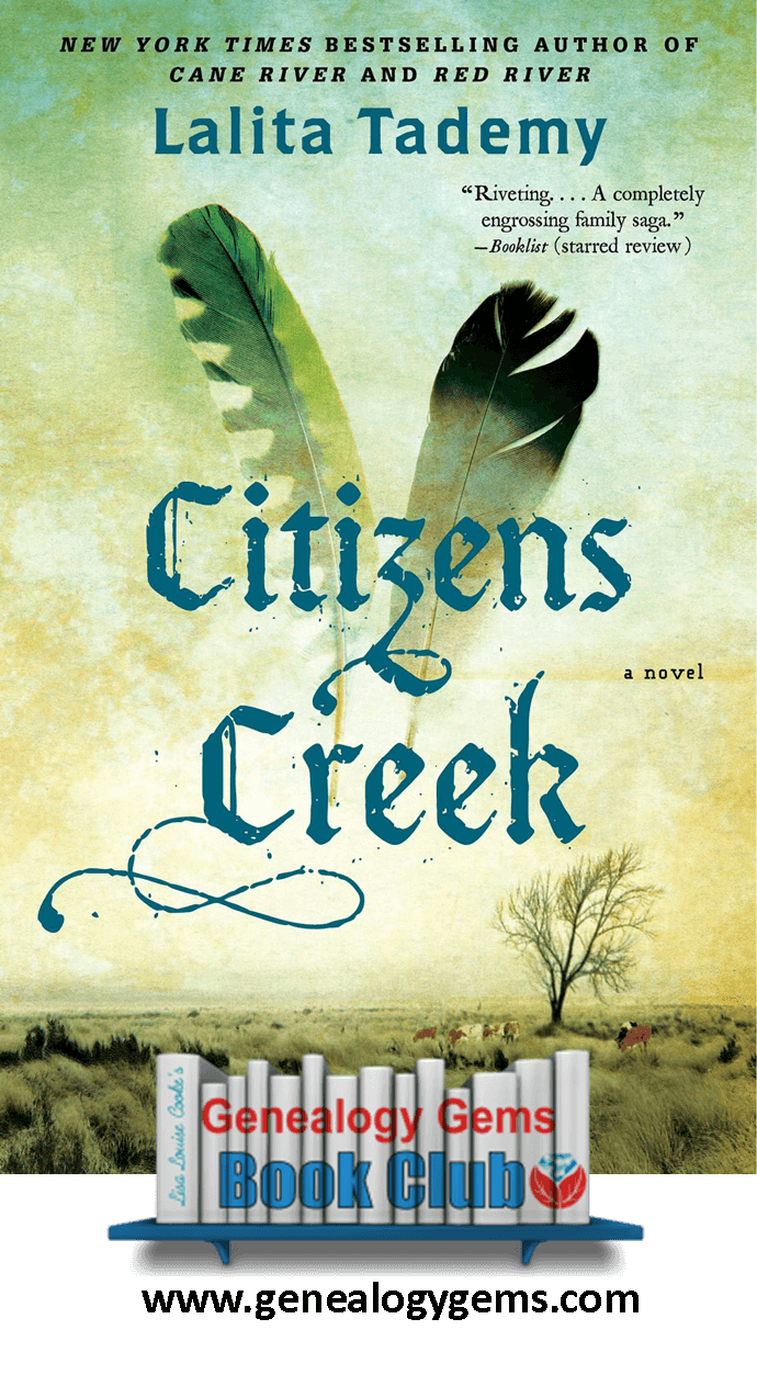 Citizens Creek: NEW Genealogy Gems Book Club Featured Title