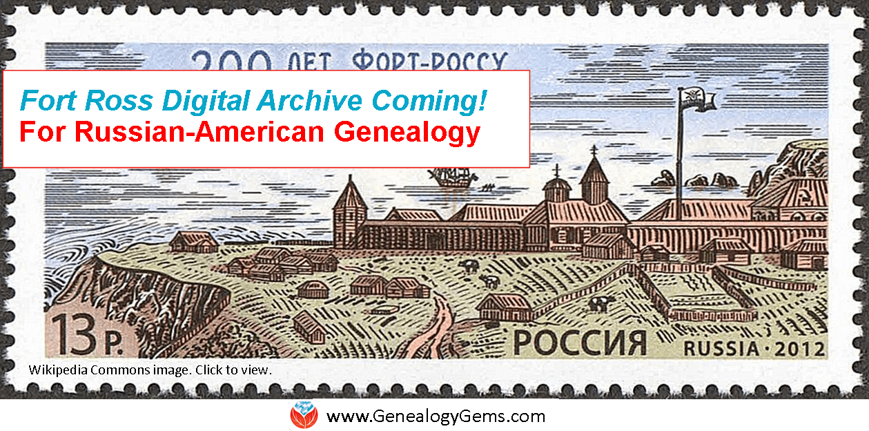 Russian Genealogy: A New Russian-American Digital Archive