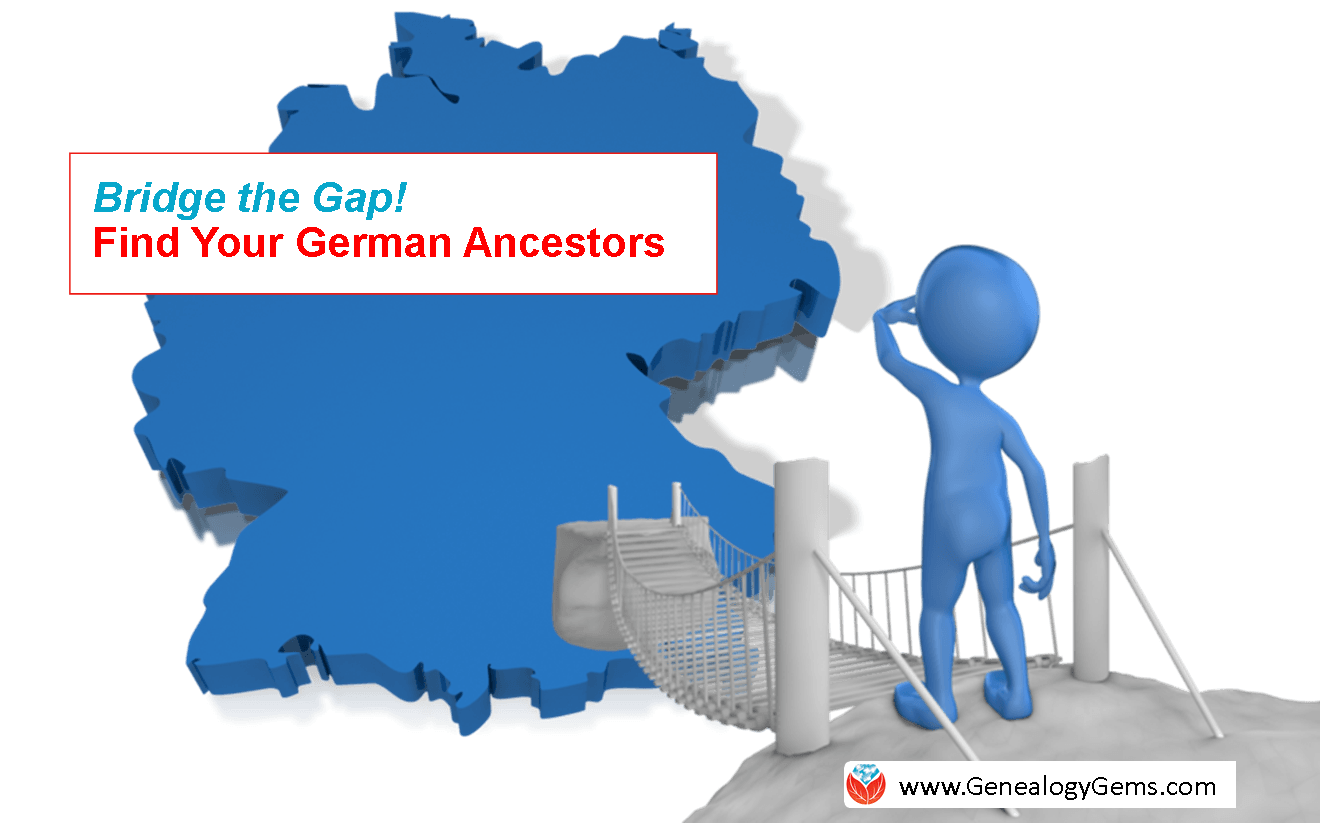 Find German Ancestors! Bridge the Gap with New International Network