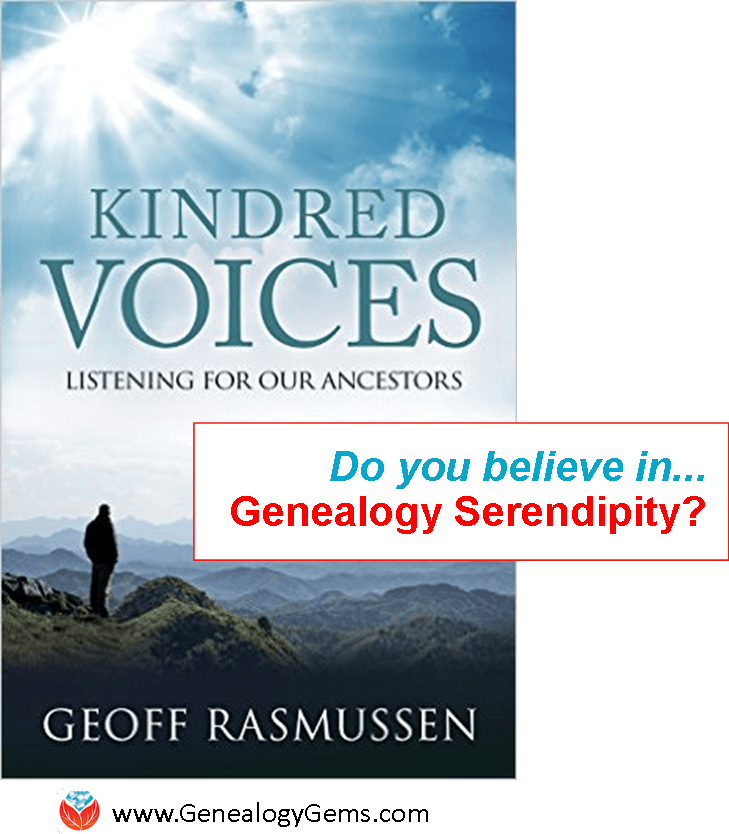 Celebrate Genealogy Serendipity! (This Book Does, Too)