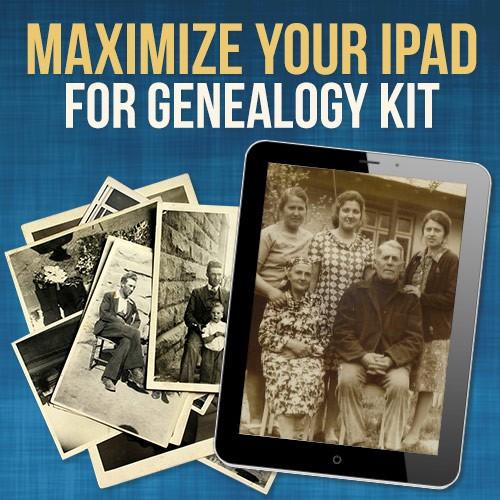 ipad for genealogy FTM kit