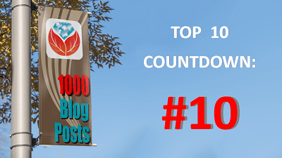 Celebrating 1000 Genealogy Blog Posts: #10 in the Top 10 Countdown