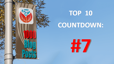 Celebrating 1000 Genealogy Blog Posts: #7 in the Top 10 Countdown