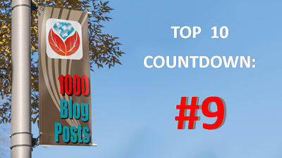 Celebrating 1000 Genealogy Blog Posts: #9 in the Top 10 Countdown