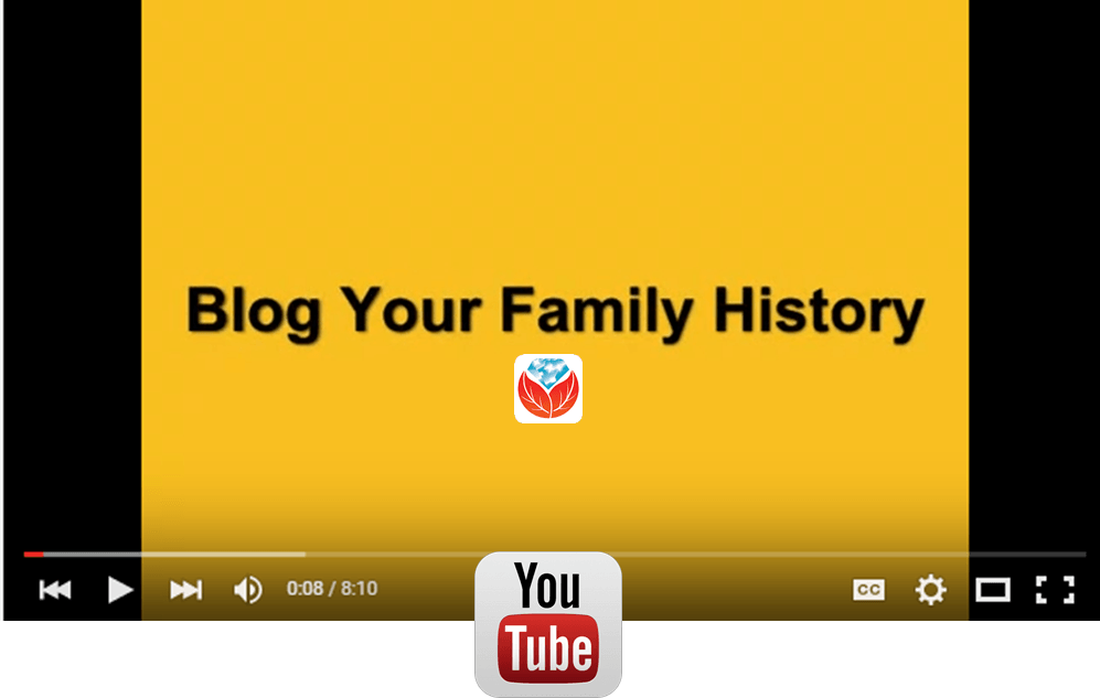 blog your family history video series youtube