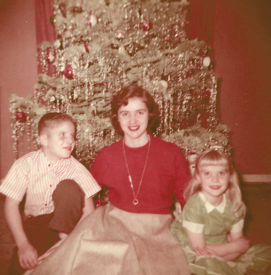 Christmas at Grandma's house 1956 - DIY stocking stuff ideas